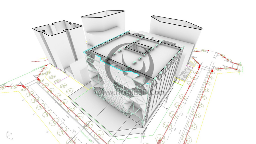 بنر ساخت احجام معماری با پلاگین ویژوال آرک