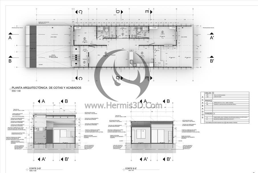 بنر اطلاعات ساختمان در پلاگین ویژوال آرک